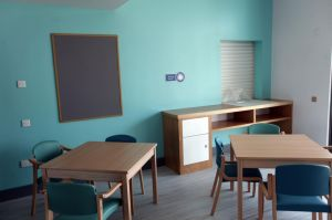 Ward dining area